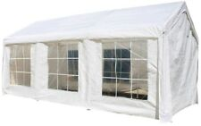 Outdoor Storage Shed Garage Shelter Car Canopy Portable White Roof PVC Carport