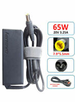 GENUINE LENOVO 65W 20V LAPTOP AC POWER ADAPTER CHARGER T-SERIES FREE POWER CABLE