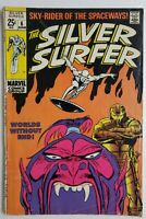 🔥 SILVER SURFER #6 1968 VOL 1 1ST APP OVERLORD SILVER AGE MARVEL FANTASTIC FOUR