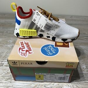 Adidas TOY STORY BUZZ WOODY Kids Shoes Unisex Size 3 BRAND NEW IN BOX