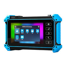 "8MP 5"" IPC Camera Tester AHD TVI CVI Security Monitor HDMI VGA LCD 4K H.265 4in1"