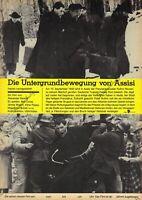 """DDR Progress Filmplakat A3 Die Untergrundbewegung von Assisi 1986 """"ungeknickt"""""""