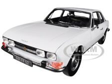1969 PEUGEOT 504 COUPE AROSA WHITE 1/18 DIECAST MODEL CAR BY NOREV 184825