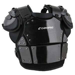 Champro Pro-Plus Armor Baseball Umpire Chest Protector - Black (NEW) Lists@$179