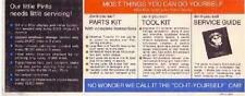 1971 Ford Pinto Post Card Sales Brochure Literature Dealer Advertisement NOS