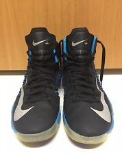 Nike Hyperdunk Men's Size 13.5 Blue Glow Black Metallic Silver 2012