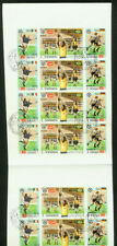Yemen Royalist 1970 World Cup Soccer proof gutter block of 24
