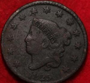 1825 Philadelphia Mint Copper Coronet Head Large Cent
