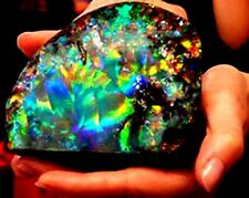 ETHIOPIAN OPAL ROUGH PLAY OF COLOR NATURAL WELO UNTREATED GEMSTONES TC39