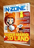 Nintendo N-Zone Magazin 2011 Super Mario 3D Land Professor Layton Star Fox 64 3D