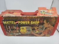 1965 Mattel Real Power Shop with Instruction Manual