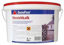 (2,15€/L) Baufan Streichkalk Kalkfarbe schimmelwidrig atmungsaktiv 10L