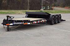 2020 Diamond C 25' Triple 7k Axle Tilt Heavy Duty Equipment Trailer
