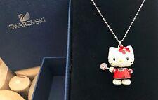 Original Swarovski cadena Hello Kitty nuevo embalaje original día de la madre remolques artículo de colección
