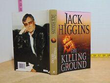 The Killing Ground by Jack Higgins (2008, Hardcover) BCE