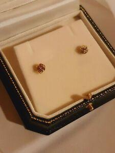18ct Knot Stud Earrings