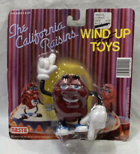 The California Raisins 1987 NASTA Wind Up Toy w/ Blue Sneakers