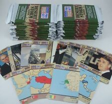 Desert Storm Pro Set Boxed Trading Cards Wax Foil 34 New Packs 10 Cards in Each