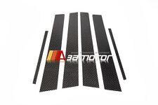 Carbon Fibre Door B Pillar Panel 6PCS for 15-17 Subaru Impreza WRX STi Sedan VAB