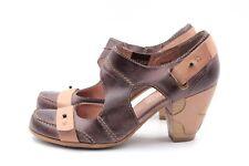 TAMARIS Pumps Gr. 40 UK 7 Braun Leder Echtleder Damen Schuhe