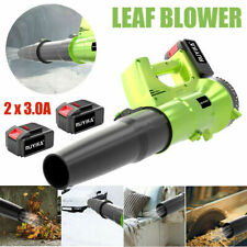 More details for ruyika 21v cordless garden leaf snow dust blower + 2 x 3.0a battery and charger