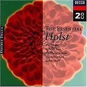 Gustav Holst - Essential Holst (1995) Decca Double 2 x CD {CD Album}