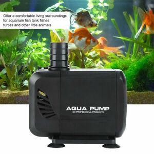 Teichpumpe Gartenteichpumpe 3000L/H 40W ECO Tauchpumpe Wassepumpe Aquarium Pumpe