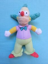 FAB * CRUSTY THE CLOWN * Plush Soft Toy-THE SIMPSONS