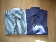 09285c3a8e01cd 2x PETER WERTH mens casual formal blue purple cotton fitted shirts size  small