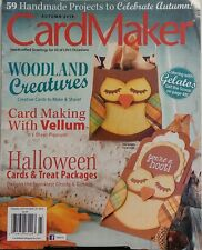 Card Maker Autumn 2014 Woodland Creatures Halloween Packages FREE SHIPPING sb