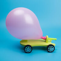 DIY Funny Kids Gift  Balloon Reaction Car Educational Science Experiment Toys