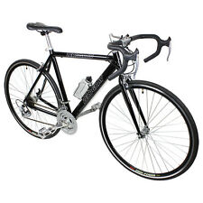 New Black 21 Speed Aluminum Road Bike Racing Bicycle 54cm 700c Shimano Parts