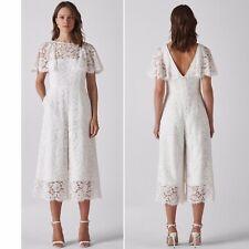 Whistles Victoria Lace Wedding Bridal Jumpsuit_Ivory_UK 8_RRP£549_Dress