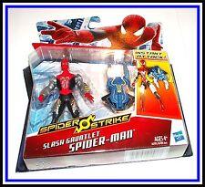 Amazing Spiderman 2 Movie _ Slash Gauntlet Spider-Man Action Figure _  MOC