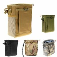 Tactical Military Airsoft Small Molle Mag DUMP Ammo Utility Backpack Pouch Bag