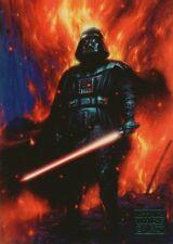 2018 Star Wars Galaxy Blue #100 Darth Vader's Element