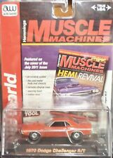 Auto World Muscle Machines 1970 Dodge Challenger R/T Red Release 3