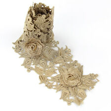 Vintage Embroidered Lace Edge Trim Gift Ribbon Wedding Applique DIY Sewing Craft