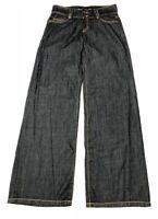 New Michael Kors Women Wide Leg Bootcut Jeans Sz 4 (30x34)