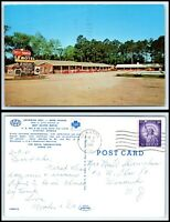 GEORGIA Postcard - Claxton, Rest Haven Motel R10