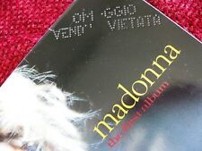 Madonna FIRST ALBUM Vinyl ALTERNATE COVER Record PROMO PUNCH EU LP Set HOLIDAY