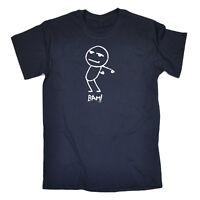 Funny Novelty T-Shirt Mens tee TShirt - Bam Stickman
