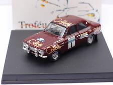 TROFEU FORD ESCORT RS 1600 1ST RAC 1973 MAKINEN 1:43