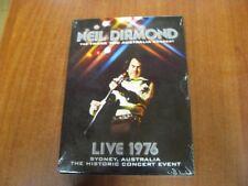 DVD NEIL DIAMOND THE THANK YOU AUSTRALIA CONCERT LIVE 1976 SYDNEY HISTORIC NUOVO