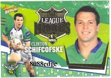 2006 SELECT NRL LEAGUE LEADERS #CC3: CLINTON SCHIFCOFSKE - CANBERRA RAIDERS