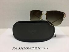 a6186b88e5 New Emporio Armani Women s Gold Brown EA2022 3069 13 Sunglasses