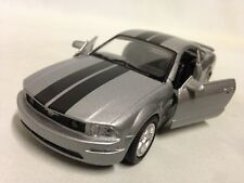 "2005 Ford Mustang GT, 5.75"" DieCast 1:32 Collection  NewRay Toys Gray"