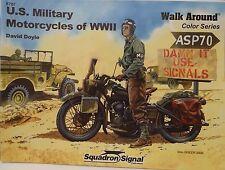 """Acción especial motocicletas US WWII, Squadron señal """"walk around color"""", * nuevo *"""