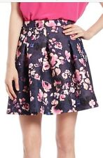 ESSENTIEL Antwerp Floral SKIRT anthropologie Ted Small NEW! Italy baker 40