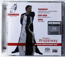 PETER WISPELWEY - Tchaikovsky / Saint-Saens / Bruch - SACD